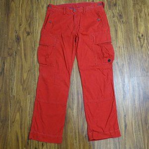 Polo Ralph Lauren Red Cargo Pants Size 36/32